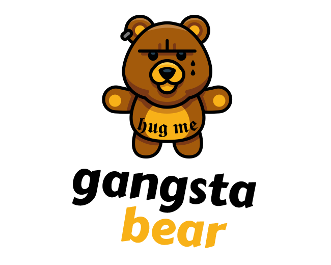 Gangsta Bear - Gangster Bear