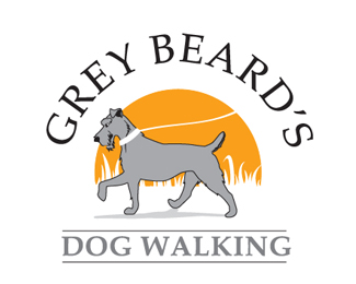 Gray Beard Dog