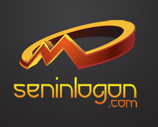 LogoPond M 3d Logo