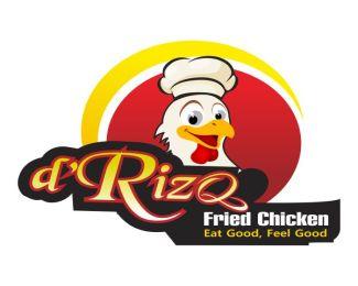 logopond logo brand identity inspiration logo rumah makan drizq logo rumah makan drizq