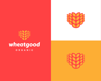 wheat logo icon