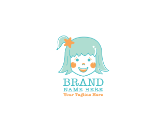 Cute Girl Logo