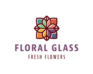 Floral Glass
