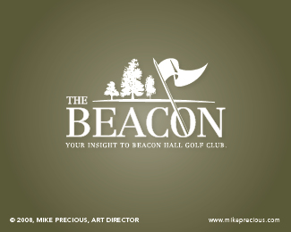 Beacon Hall Golf Club newsletter masthead logo