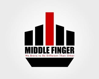 logopond logo brand identity inspiration logo for middle finger rh logopond com Bird Middle Finger Logo middle finger logo image