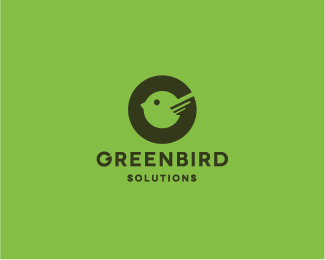 green bird logo