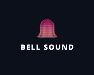 Logo design inspiration #26 - BELL SOUND by Jacek Janiczak