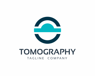 CT MRI Tomography Logo