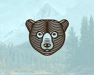 Nature Bear Logo For Sale