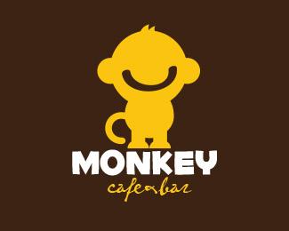 logopond logo brand amp identity inspiration monkey logo 02