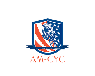 AM-Cyc Bicycle Company Logo