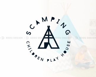 Scamping edoudesign, scamping, children, play, hou