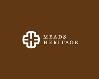 Meads Heritage Road Sign