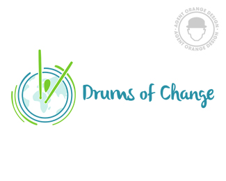 Drums of Change | Newsletter Logo Design