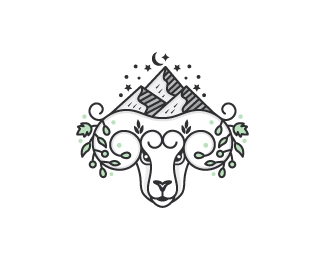 Natural Sheep Logo