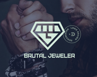 brutal jeweler by @edoudesign