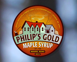 Philip's Gold 100% Pure Maple Syrup