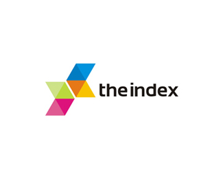 The Index (web, mobile, app developer) logo design