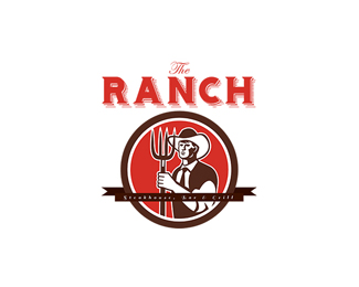 The Ranch Steak House Bar and Grill Logo