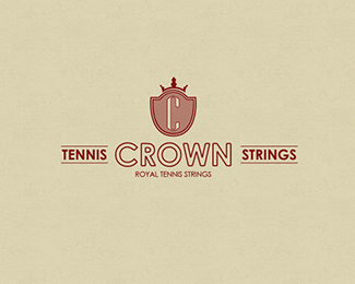 Crown Tennis Strings Logo