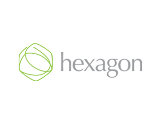 Hexagon - green