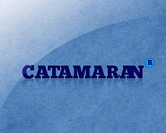 Catamaran typography