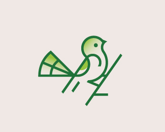 Bird Logo and Grids