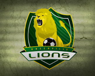 Greenville Lions Crest