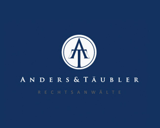 Logotype created for a german law firm