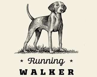 Running Walker Brand Logo