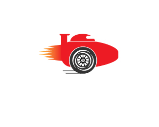 Logo for RocketF1.