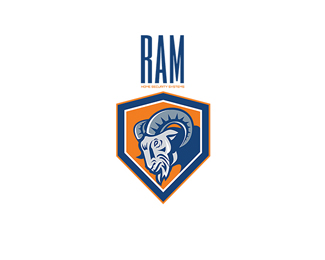 Ram Home Security Systems Logo