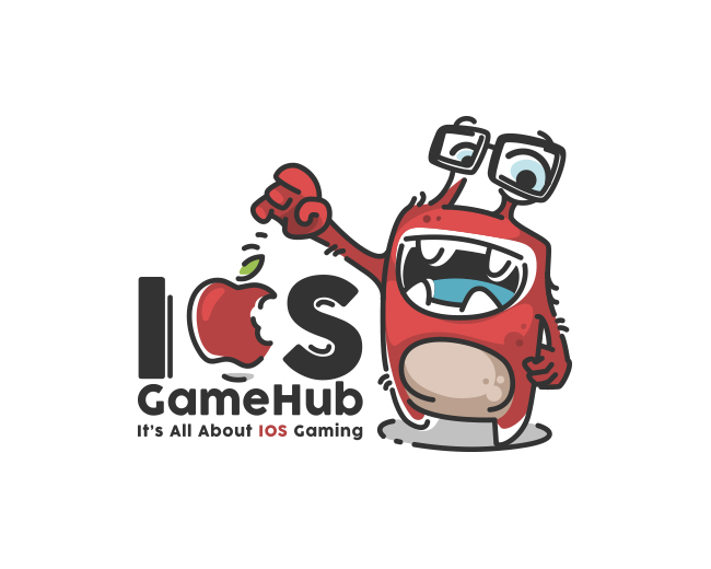 Mascot Design for IOS Gamehub