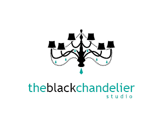 The Black Chandelier Photography