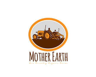 Mother Earth Eco Friendly Organic Farms Logo