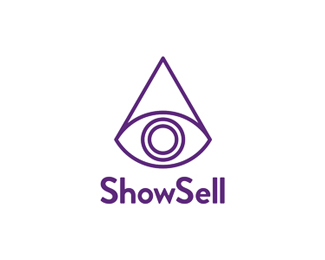 ShowSell, art & marketing project logo design