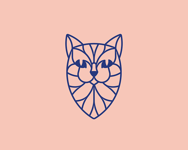 Linecat Logo 📌 Logo for Sale