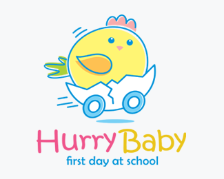 Hurry Baby Logos for Sale