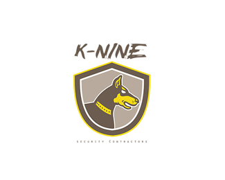 K-Nine Security Contractors Logo