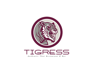 Tigress Authentic Thai Restaurant and Bar Logo
