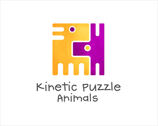 Kinetic Puzzle - Animals (logo)