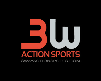 3 Way Action Sports Logo