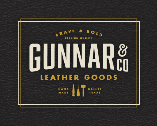 Gunnar & Co. Leather Goods