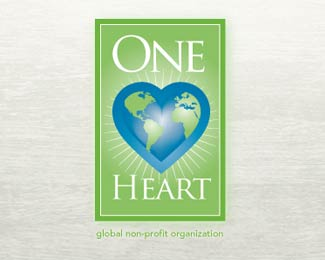 One Heart Logo