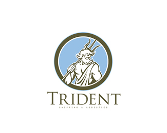 Trident Shipping and Logistics Logo