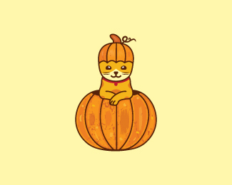 Pumpkin Cat Logo