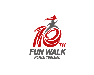 10 years Fun Walk