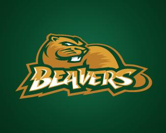 Portland Beavers Primary Logo