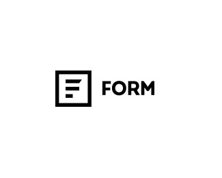 Logo design inspiration #30 - Form by Vinícius Oliveira