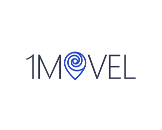 1Movel real estate location/Milky Way galaxy logo